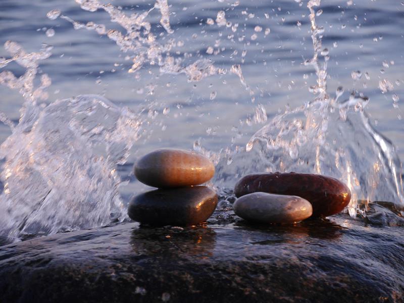 Lebenssteine Ostsee Wasser