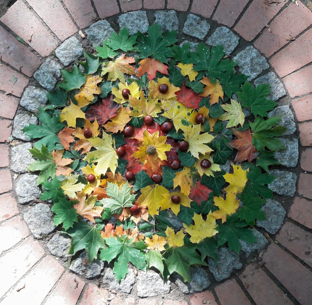 Herbstmandala