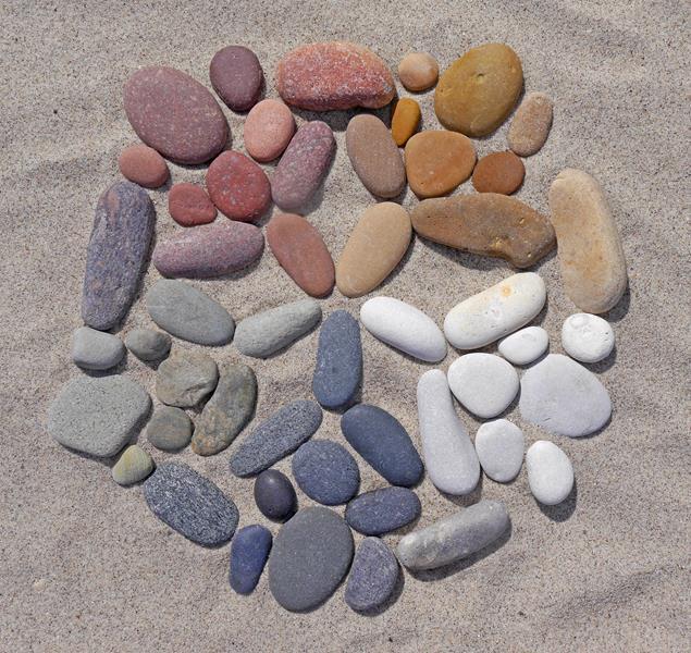 Fünf-Elemente-Mandala