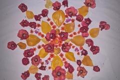 Blüten-Mandala-Malediven